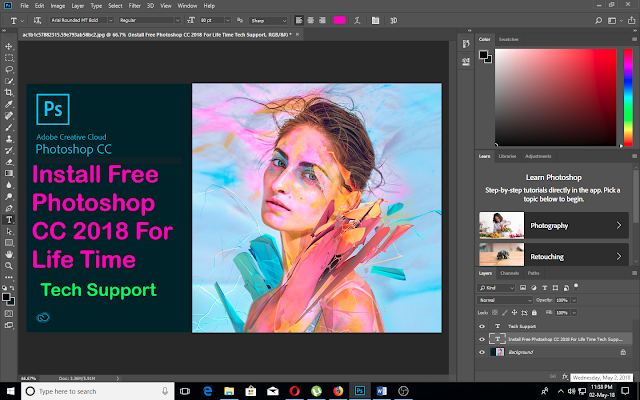 HOW TO GET ANY LATEST ADOBE SOFTWARES FREE FOR LIFE TIME - Tech Support