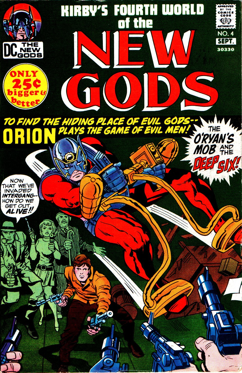 The New Gods (1971) issue 4 - Page 1