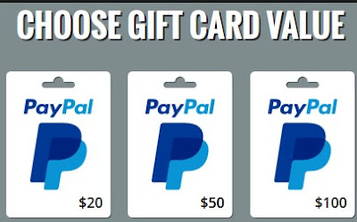 free PayPal gift card 2018