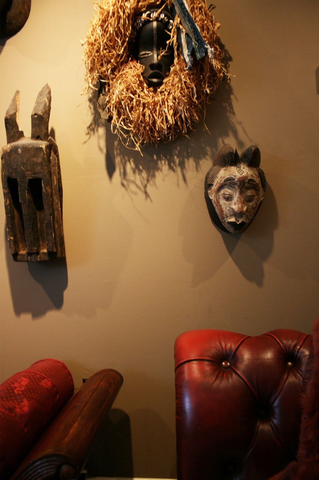 Apartmentf15 Decorating With African Masks