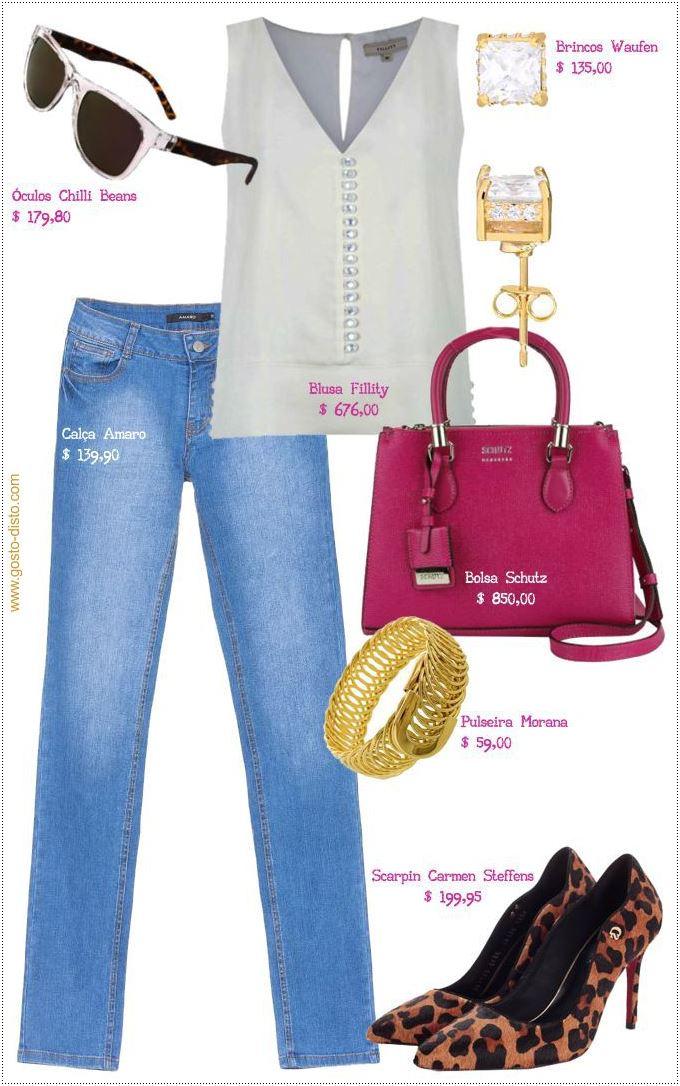 Como usar jeans para trabalhar