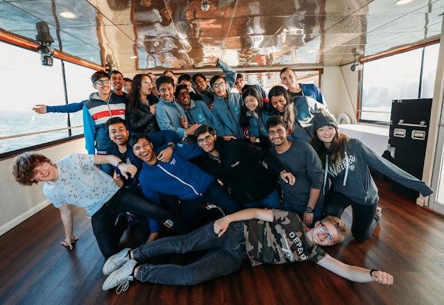 Google Code-in winners trip to California