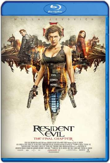 Resident Evil: Capítulo Final (2016) HD 1080p y 720p Latino