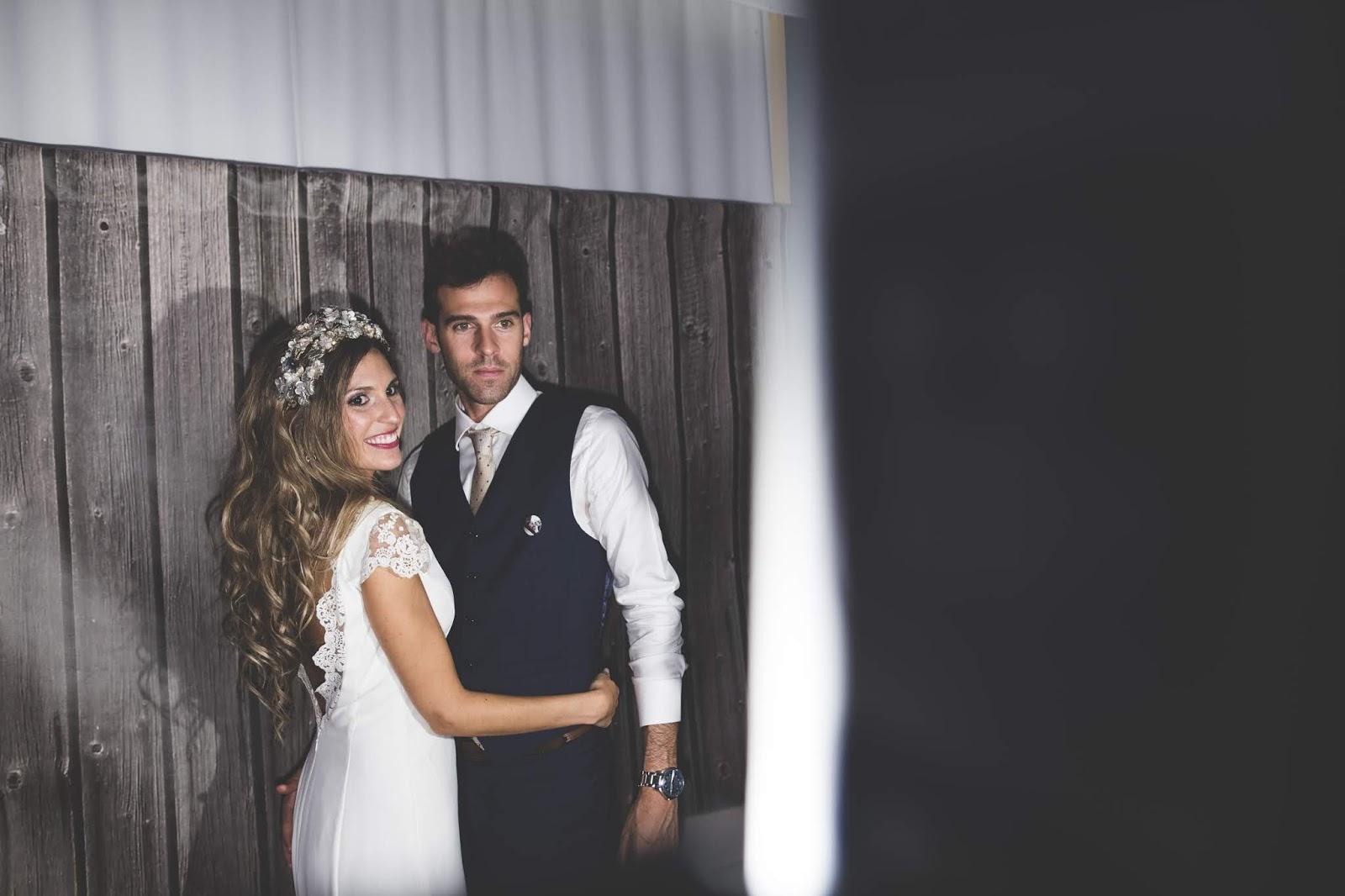 novia con pelo suelto
