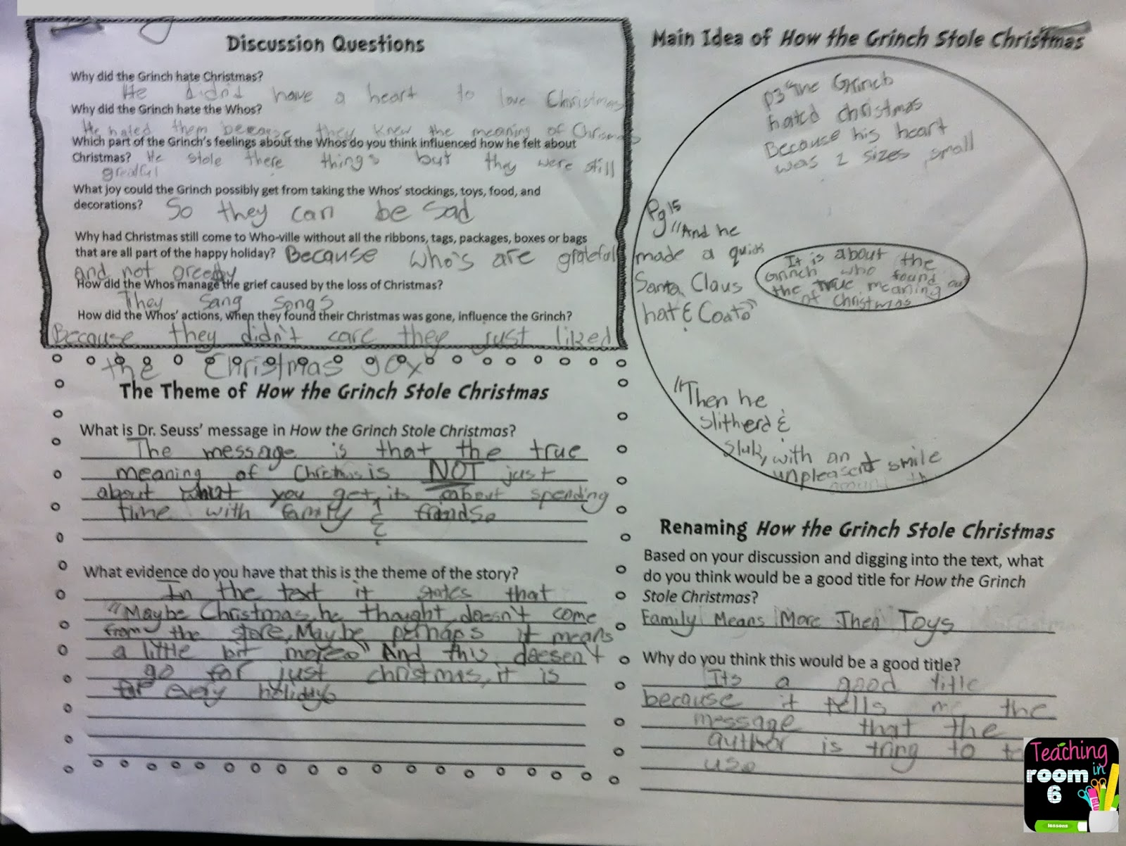 medium resolution of Theme and Inference in Dr. Seuss   Teaching in Room 6