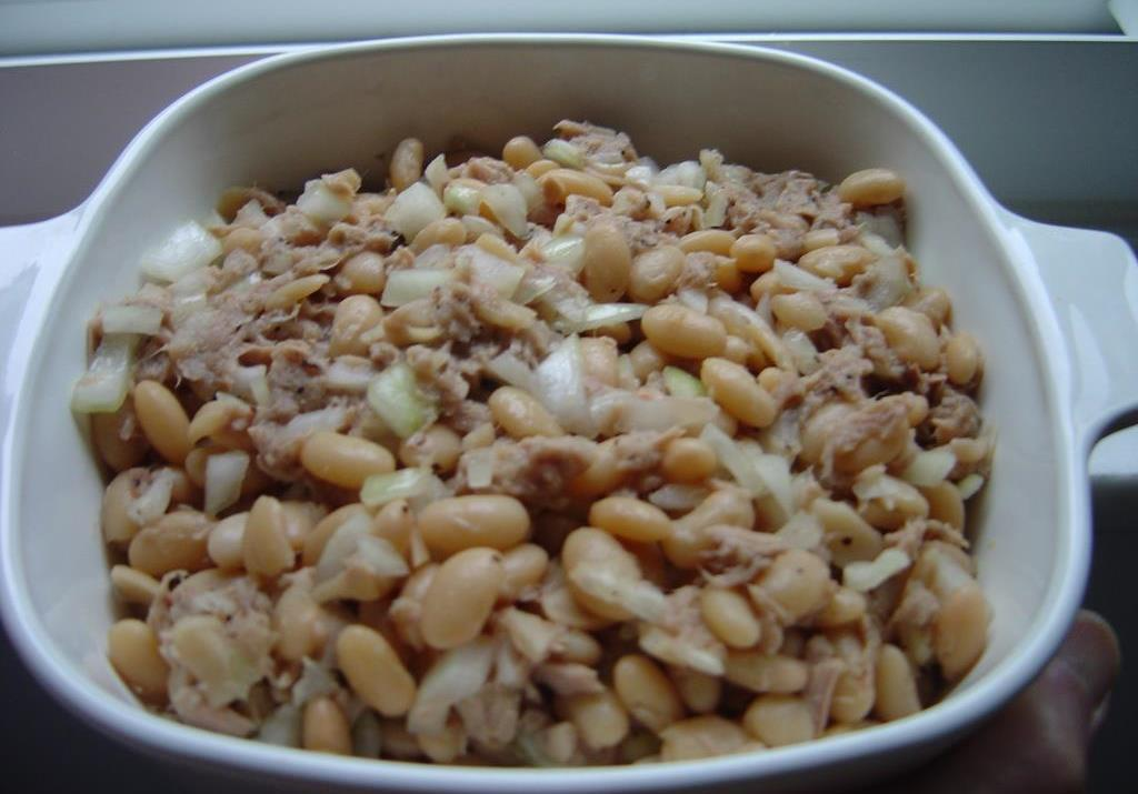 Mediterranean-Tuna-Bean -alad