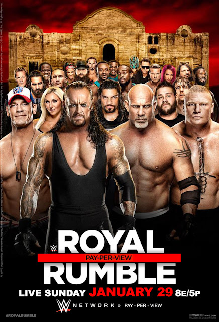 Royal Rumble 2017 Official Poster