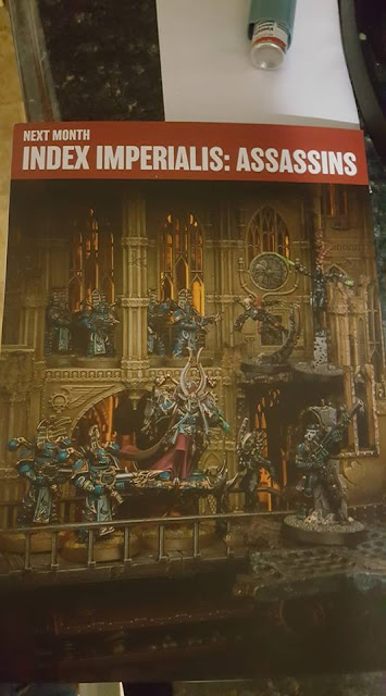 Index Asesinos 40k