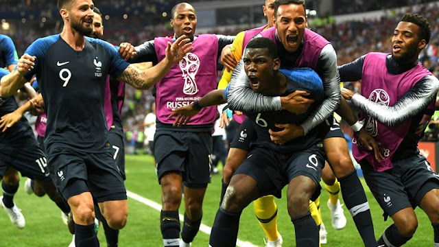 France are Russia 2018 FIFA World Cup champions after 4-2 win in Moscow.