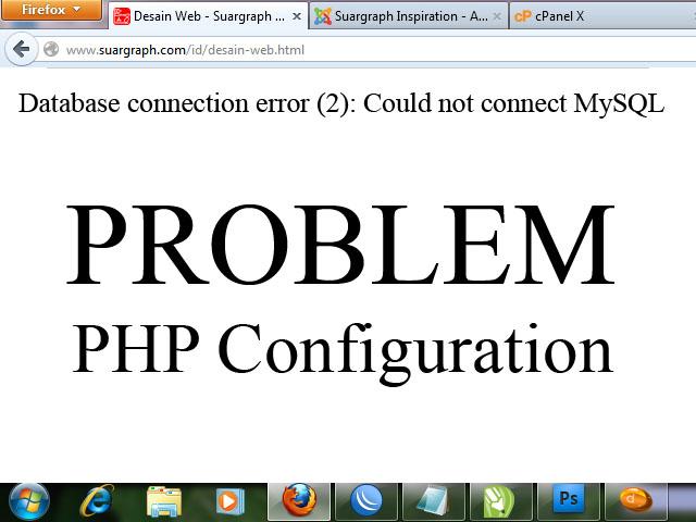 Fix Problem Database Connection Error (2) on Joomla ...