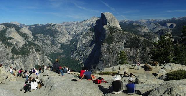 Glacier Point em Yosemite Valley