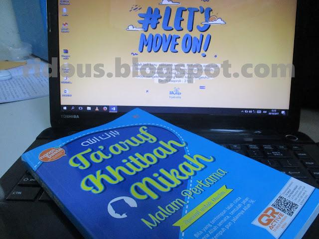 Jadi Pemenang GIVEAWAY Buku Taaruf Khitbah Nikah Malam Pertama dari Om Agus Ariwibowo - Ridous Blogger tasikmalaya