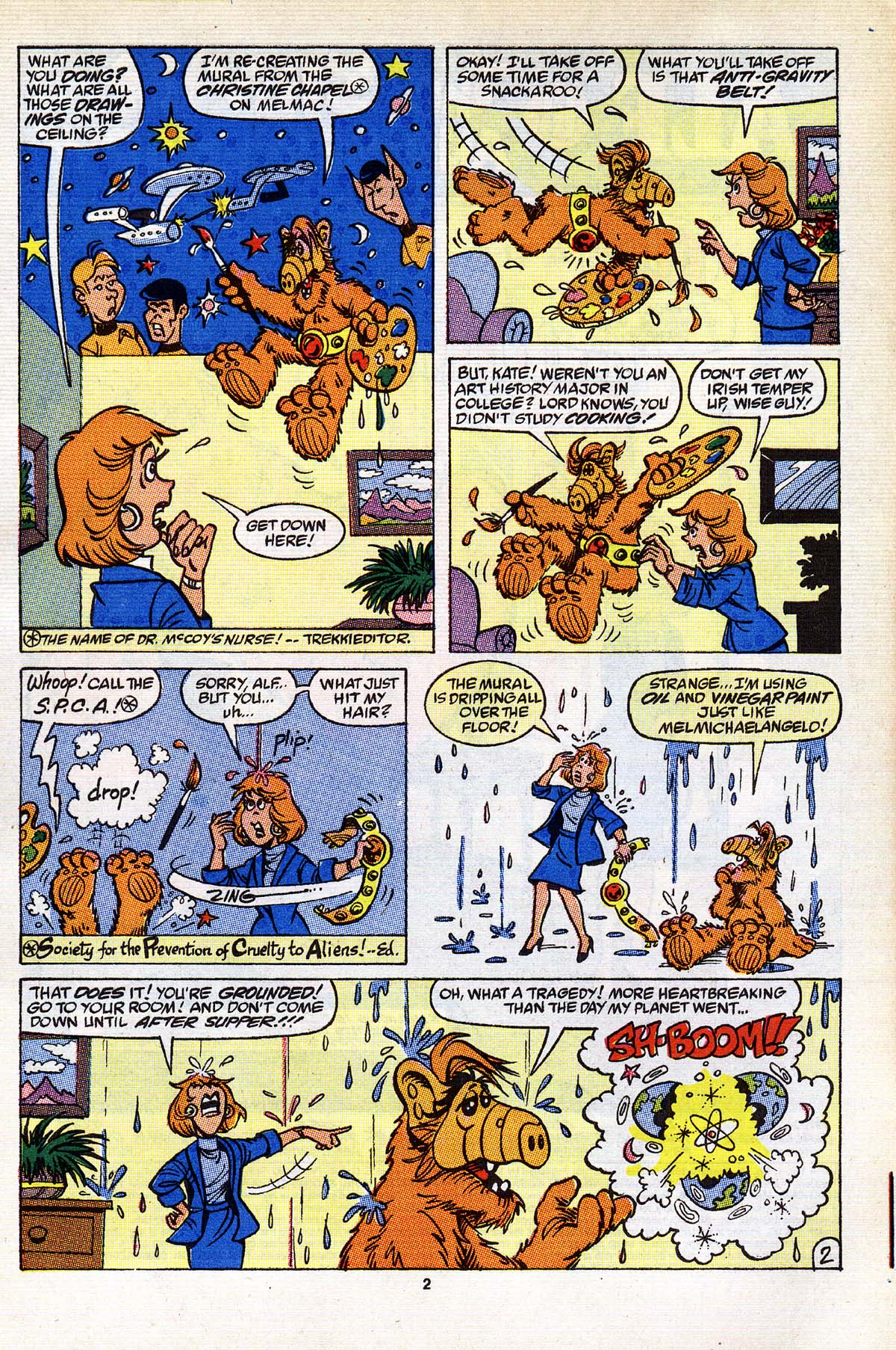Read online ALF comic -  Issue #25 - 3