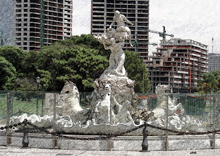 Fuente Monumental Las Nereidas, Buenos Aires