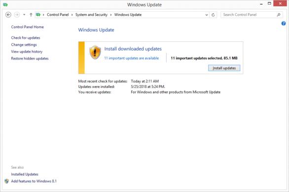 Cara Update Windows 8, Windows 7 and Windows Vista