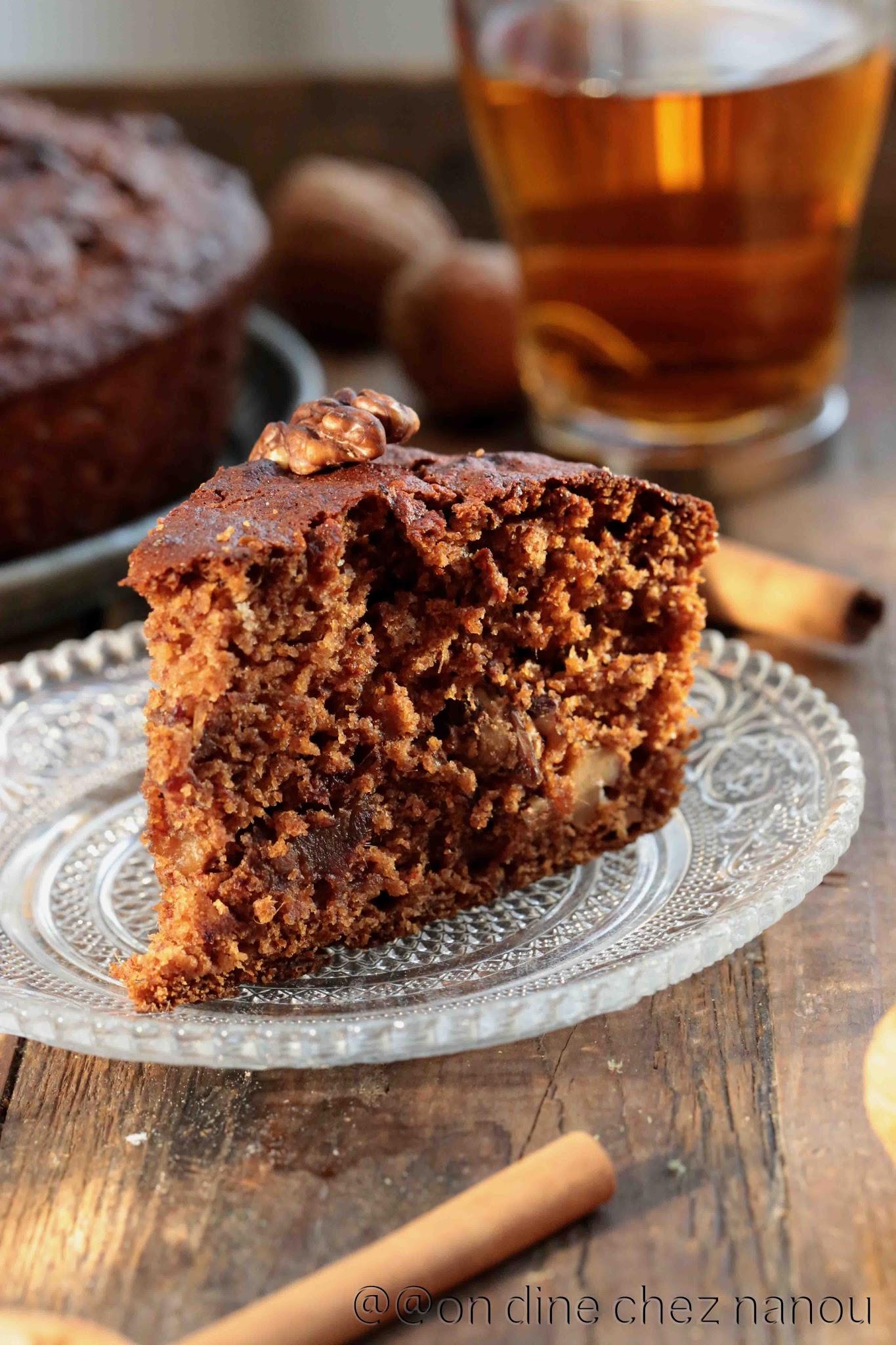 cake moelleux , sweet Ottolenghi , dattes , gouter , thé