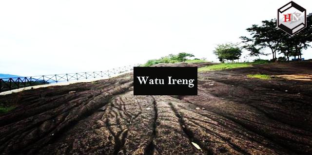 Pesona keindahan alam bukit Watu ireng Pekalongan