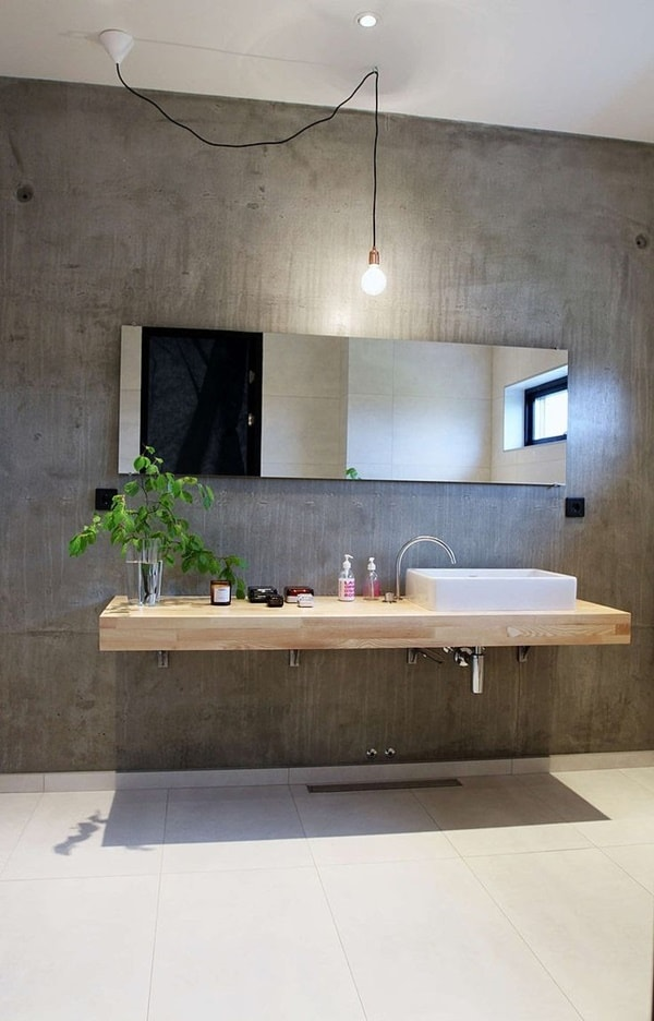 Wooden Bathroom Furniture Comes Back 8