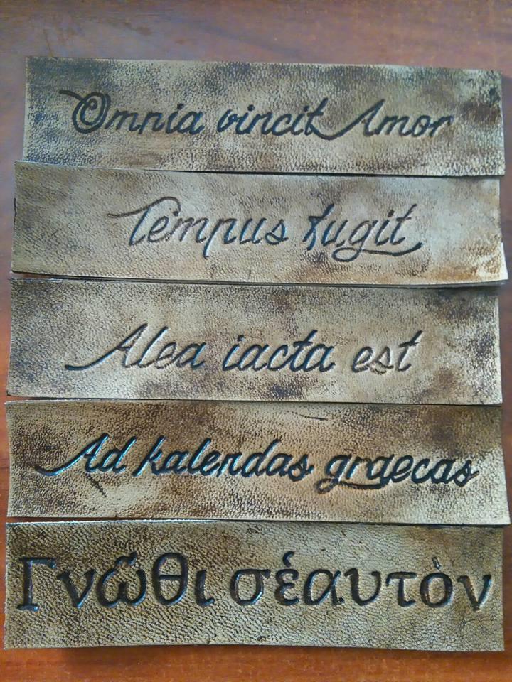 Roma Y Su Legado Frases Célebres En Marcapáginas