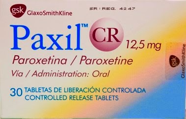 Paxil is an over the counter antidepressant drug of the SSRI type. Paroxetine is used to treat major depression, obsessive-compulsive disorder, panic disorder, social anxiety, posttraumatic stress disorder, generalized anxiety disorder and vasomotor symptoms.