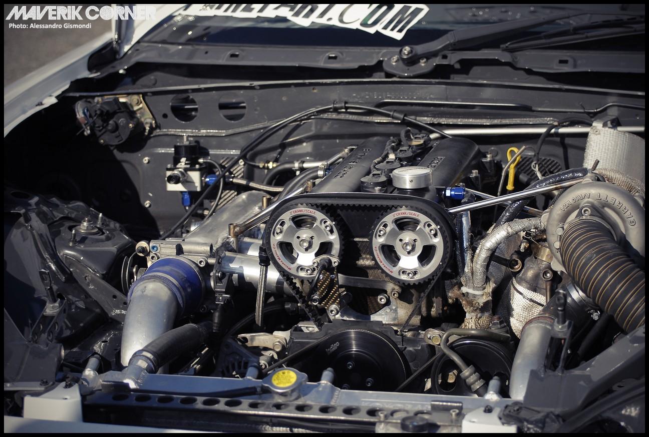 Maverik Corner MX5: Japanese Cars Meeting - Filippo Pirini's Drift NB