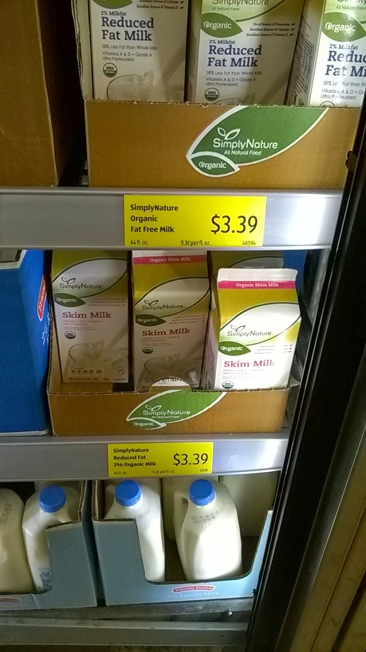 Organic Milk!
