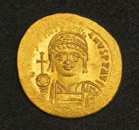 Eastern Roman Empire Justinian I Gold Solidus Coin World Banknotes Amp Coins Pictures