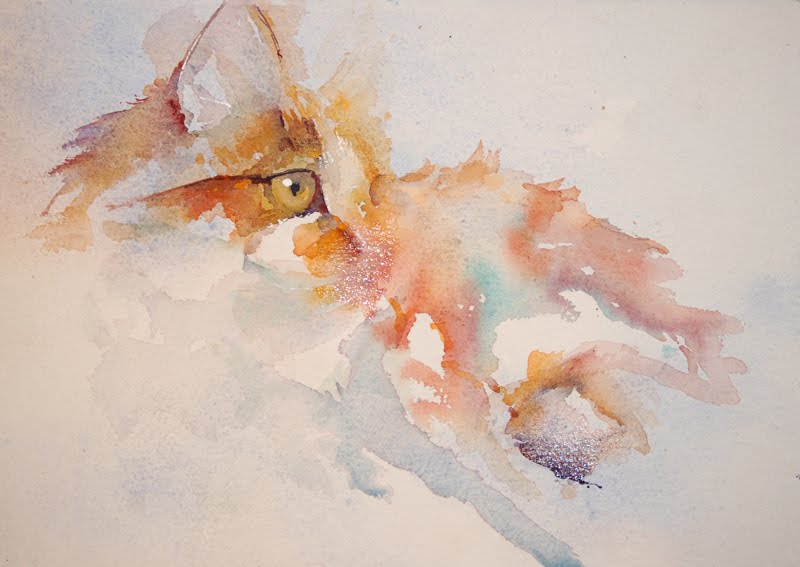 Water Color Artists That Paint Animals