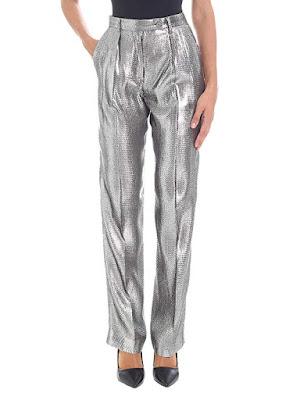 Silberne Hose