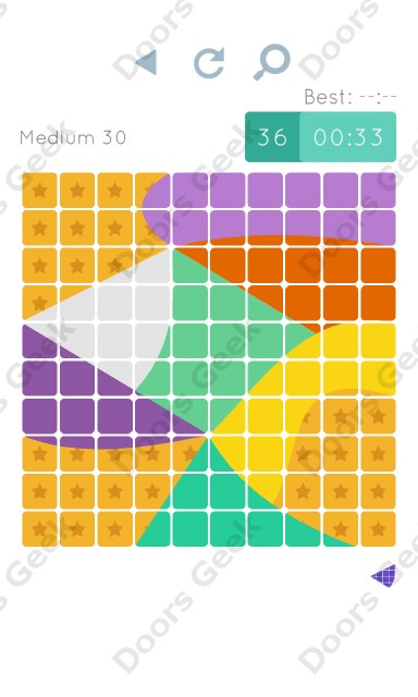 Cheats, Walkthrough for Blocks and Shapes Medium Level 30