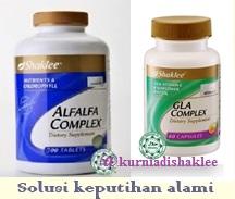 GLA dan alfalfalfa shaklee atasi keputihan secara alami