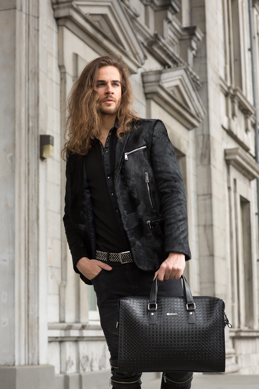Leading Leather Brand Mcjim Shoots New Ad Campaign In Montreal Canada Formula Sikat Gigi For Silver Pro Trendy The Setting Of Mcjims Latest Highlights Brands Traditional Yet Stylish