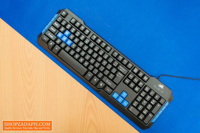 zeus mk-220 basic keyboard review