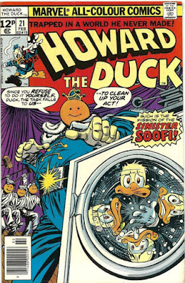 Howard the Duck #21, the Sinister Soofi