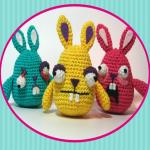 patron gratis conejo amigurumi | free pattern amigurumi rabbit