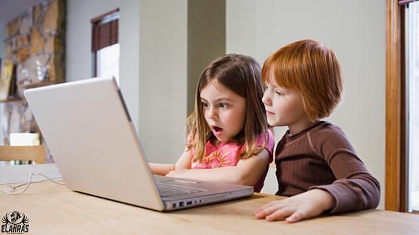 الاطفال و الانترنت