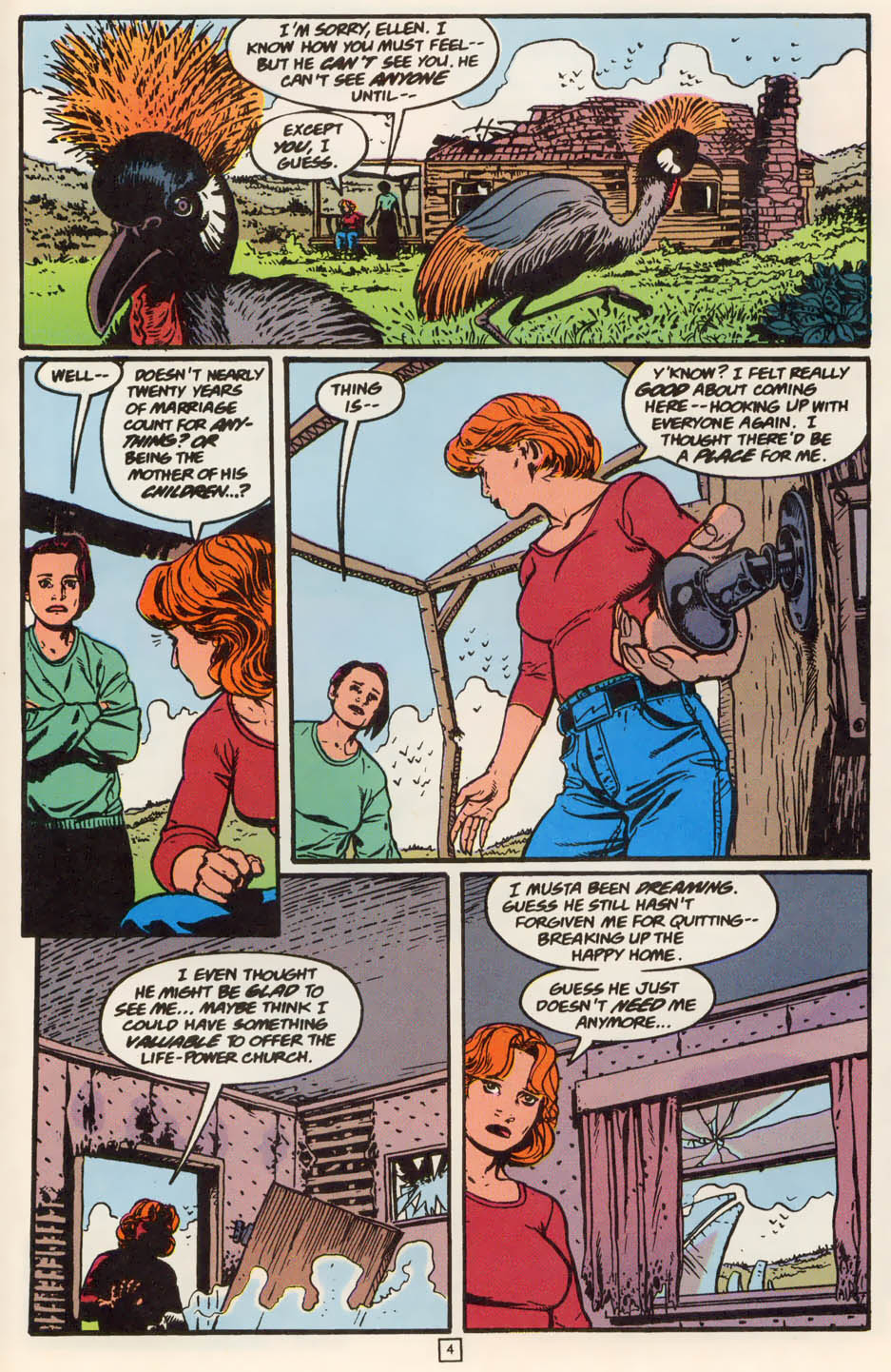 Read online Animal Man (1988) comic -  Issue #79 - 4