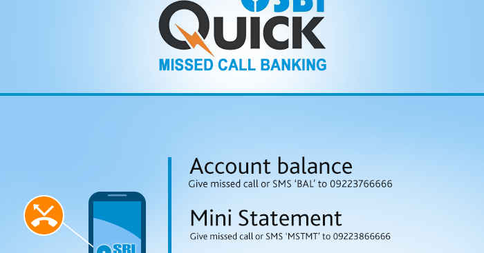 State Bank of India Missed Call Balance Enquiry Number or SMS, Toll