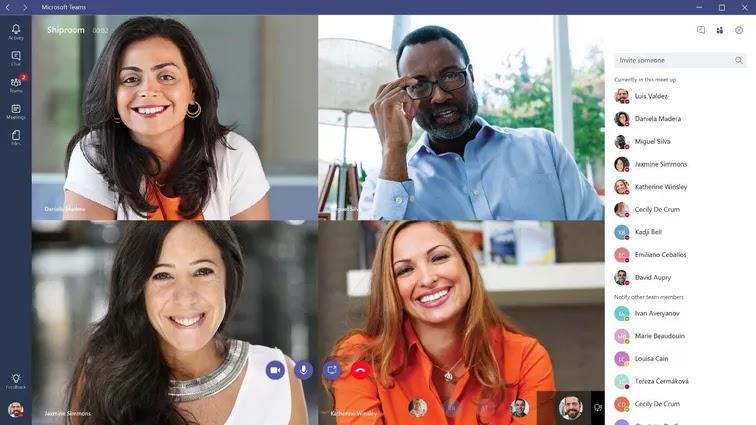 Best for Office 365 fans - Microsoft Teams