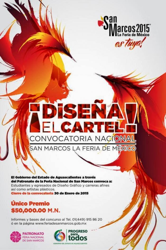 Convocatoria Feria San Marcos 2015 Diseño de Cartel - Feria San ...