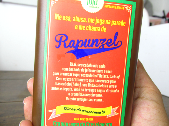 Rapunzel Lola Cosmetics - Tônico do crescimento, Rapunzel Lola Cosmetics, Tônico do crescimento