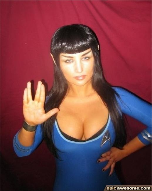 Join. agree Star trek cosplay sexy right!