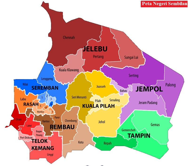 Peta Negeri Sembilan