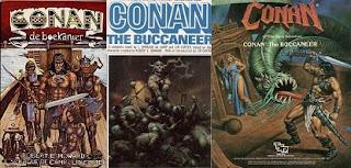 Conan, a kaloz kulfoldi megjelenesek