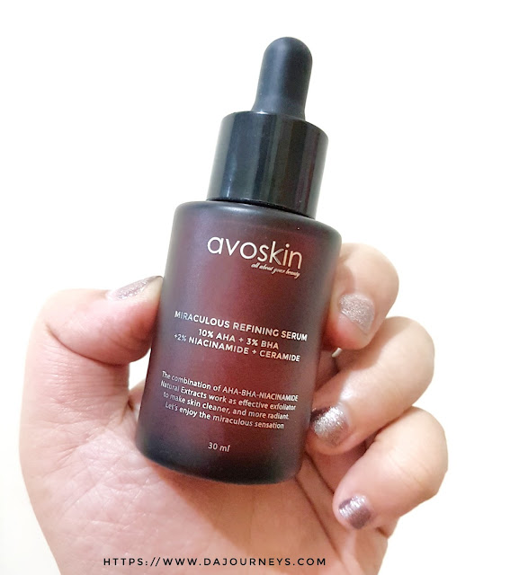 [Review] Avoskin Miraculous Refining Serum