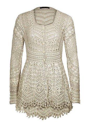Patrón #1890: Como tejer impresionante blusa a crochet