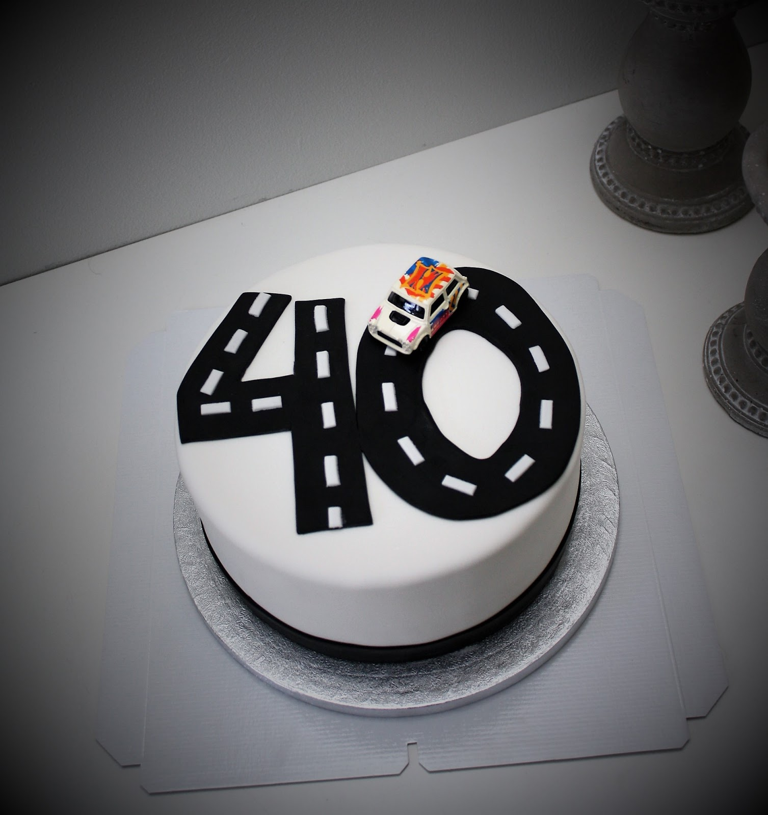 tårta 40 år Mat & dryck   Nillashandicraft   40 års tårta » Sevendays tårta 40 år