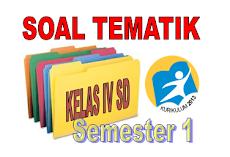Contoh Soal Kelas 4 SD/MI Kurikulum 2013 Tema 1, 2, 3 Dan 4