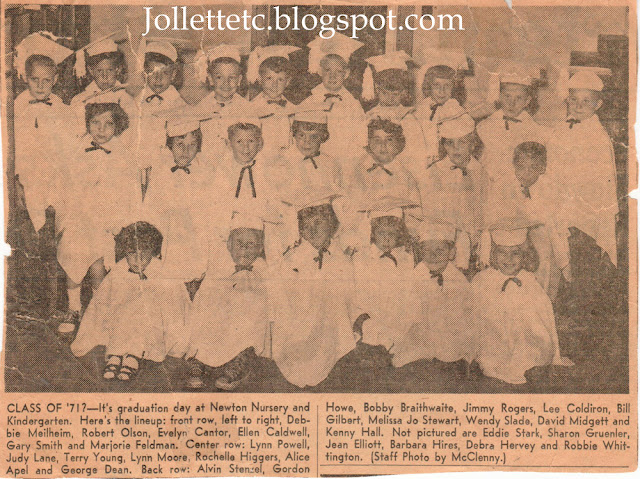 Newton Kindergarten graduation 1956 Portsmouth, VA  http://jollettetc.blogspot.com