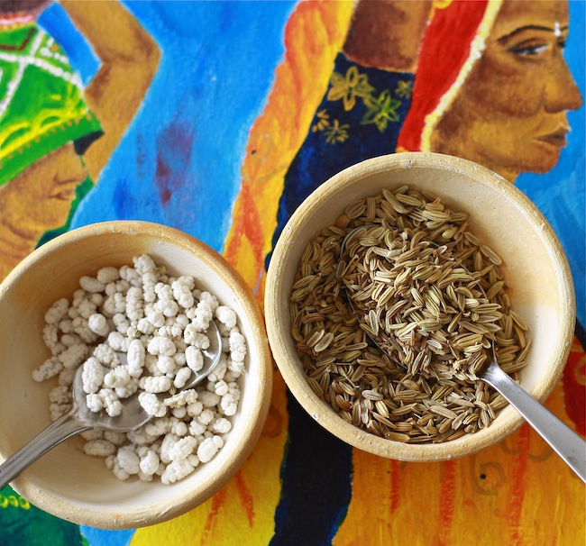 candied fennel seed and whole fennel seed spice for after indian meal breath freshener